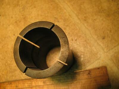 """Hardinge 3J 1-5/8"""" Smooth Round Collet without Internal Threads"""