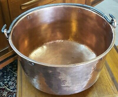 Antique Scullery Solid Copper Pan Circa 1860's