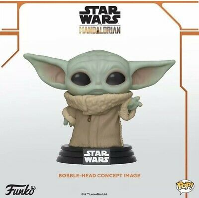Pre-order Funko Pop! Star Wars The Mandalorian Baby Yoda The Child May 2020