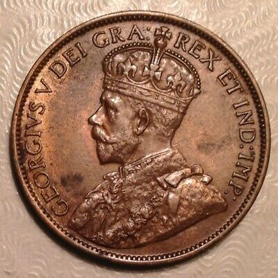 1912 Canada  George V Large Cent