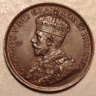 1915 Canada  George V Large Cent