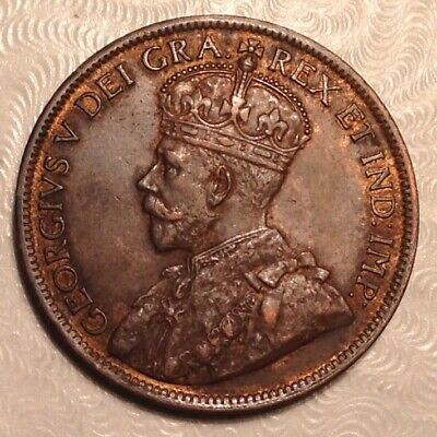1916 Canada  George V Large Cent