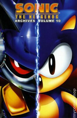 Sonic the Hedgehog Archives #10-1ST GD/VG 3.0 2009 Stock Image Low Grade