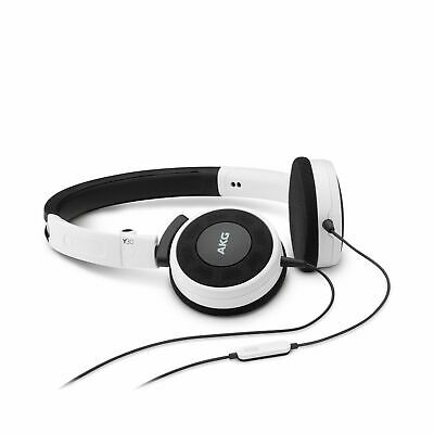 AKG Y 30 refurbished White Stylish, Uncomplicated, Foldable Headphones With 1