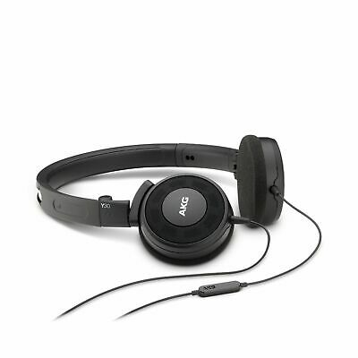 AKG Y 30 refurbished Black Stylish, Uncomplicated, Foldable Headphones With 1