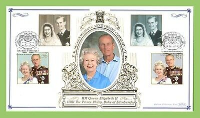 G.B. 1997 QEII & Prince Philip Golden Wedding Commemorative Benham Cover