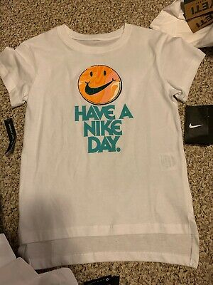 Nike Youth Girls Tshirt Nwts Have A Nike Day Size Extra Large XL