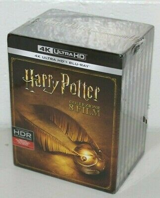 Harry Potter Complete Collection 4K UHD + 2D - Blu-ray Box Set - NEU/OVP