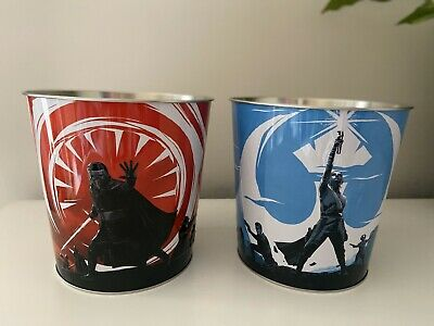 Two Star Wars Exclusive Limited edition Tins Odeon Kylo Ren and Rey Merchandise