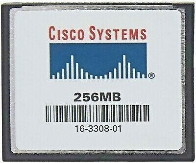 256mb Flash Memory for Cisco 6000//6500 Series Sup720//Sup32 Cisco PN# MEM-C6K-CPTFL256M