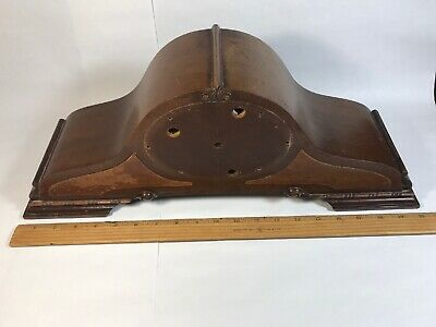 Antique Revere Electric Mantle Clock Case ONLY Art Deco
