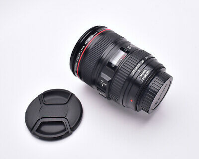 Canon Zoom Lens EF 24-105mm f/4 L IS USM Lens with Caps (#5857)