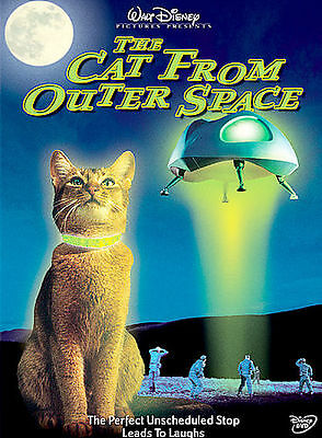 The Cat From Outer Space (DVD, 2004) Disney New