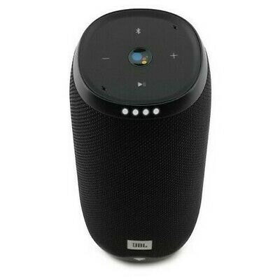 JBL LINK 20 Smart Portable Bluetooth Speaker with Google Assistant - Black