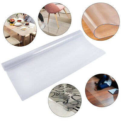 Office Chair Mat for Carpets Home Desk Chairs Floor Protector Frosted Rectangle