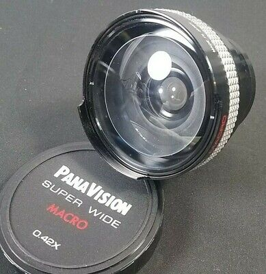 Panavision Super Wide 49mm Macro Lens 0.42x with Original Case and Cover