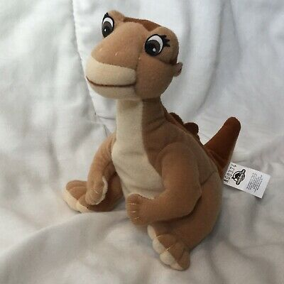 """Land Before Time Littlefoot Plush Stuffed Toy Dinosaur 6"""" Equity Girl Brown"""