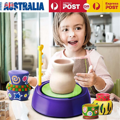 Electric Child DIY Arts Craft Ceramic Pottery Wheel Clay Pottery Wheel Machine