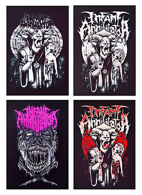 Slaughter to Prevail patch DIY printed textile patch rock death metal hard core