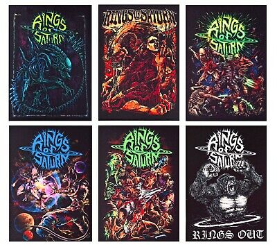 Rings of Saturn patch DIY printed rock patches metalcore death metal deathcore