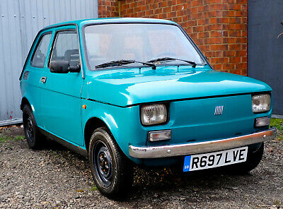1998 Fiat 126 Project Left Hand Drive Air Cooled 650CC 2 Cylinder Uk Registered