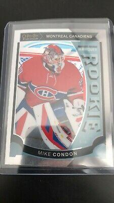 2015-16 O-Pee-Chee Platinum Marquee Rookie #M32 Mike Condon Montreal Canadiens