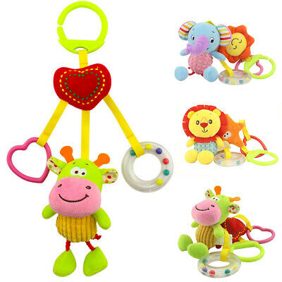 Multifunctional Musical Bed Bell Baby Crib Hanging Rattles Educational Toys RNA
