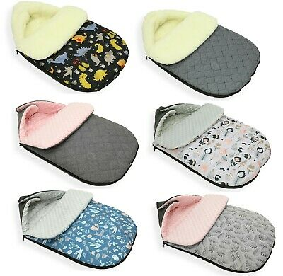 Universal Baby Stroller cosytoes Liner Buggy Padded Luxury Footmuff melange DINO
