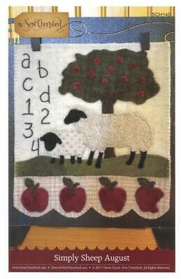 Simply Sheep March BOM Irish Luck Sew Cherished Mini Wool Pattern SCH143