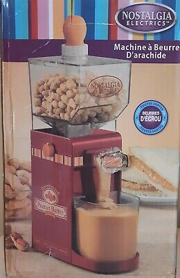 Nostalgia Electrics Peanut Butter Maker