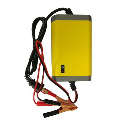 Motorcycle Car Auto 12V 2A Battery Charger Intelligent Charging Machine