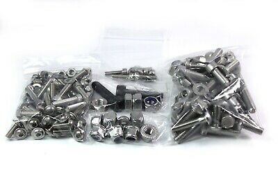 Synergy & Xenon Cadet Kart Stainless Bolts Nuts for Chassis Wheel Hubs Bodywork