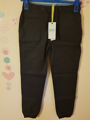 Ted Baker Boys Woven Joggers / Pants / Trousers  11, 13 Years. Designer.
