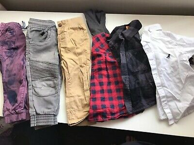 Size 1 Baby Boy /toddler Clothing Bundle - Jeans / Pants Tops- Pre-owned Tiedye