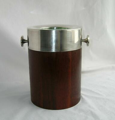 Vtg Towle Mid Century Modern Teak Wood SP Wine Cooler  No Ice CHILLER Germany
