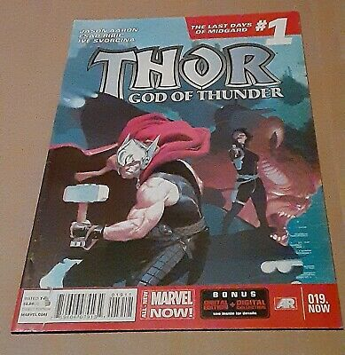 Thor God of Thunder #19 1st Dario Agger The Minotaur