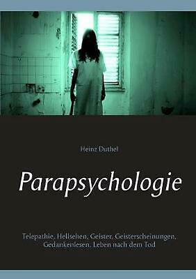 Parapsychologie by Heinz Duthel (German) Paperback Book Free Shipping!