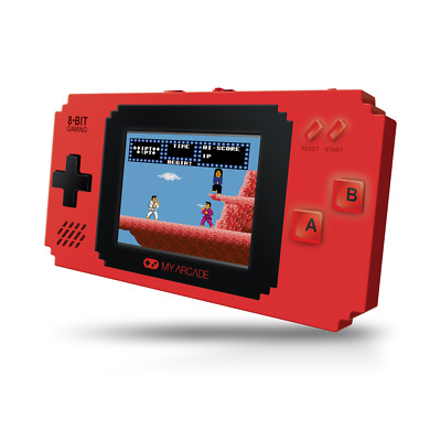 My Arcade 8-bit Portable Pixel Player 308 Built-in Classic Video Games #A10