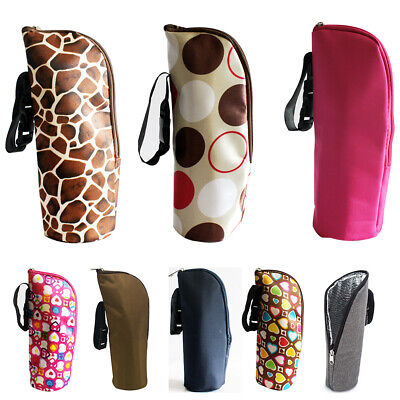 Travel Portable Storage Pouch Baby Bottle Bag Milk Warmer Insulation Feeding