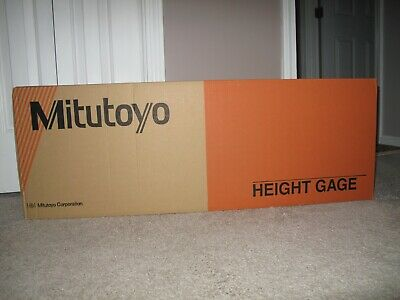 "Mitutoyo 192-632-10, Digimatic Height Gage, 24""/600mm X .0005""/.0002""0.01mm/0.00"