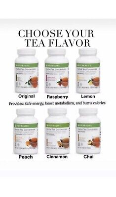 Herbalife - 4 Herbal Tea Concentrate - All Flavors 3.53 oz  NEW  3.6 oz (102g)