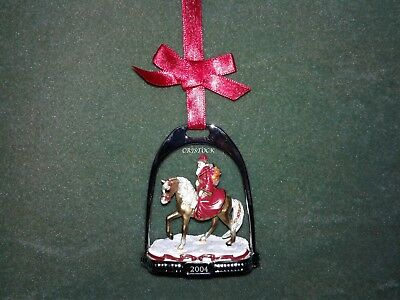 Breyer 2004 Christmas Stirrup Ornament With Box - Nib