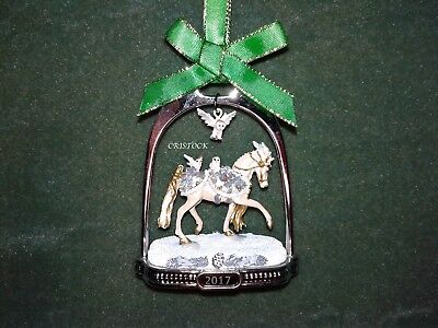Breyer 2017 Winter Wonderland Christmas Stirrup Ornament With Box ---  Nib