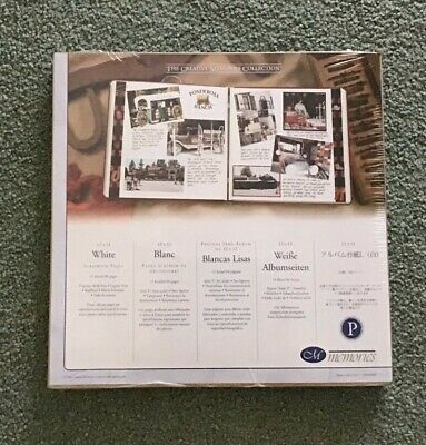 """Creative Memories 12"""" x 12"""" white Scrapbook Refill pages Original Style"""