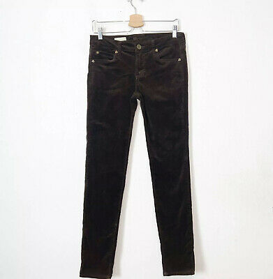 Kut From The Kloth Brown Diana Skinny Corduroy Pants Womens Size 6