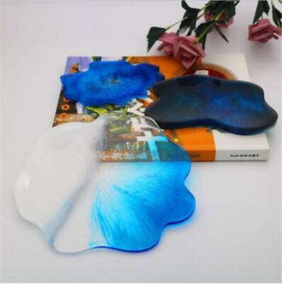 Coaster Resin Casting Epoxy Mould Silicone Jewelry Cup Mat Making Craft Tool DIY