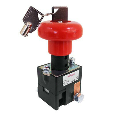 ED125LB-4 Albright Battery Disconnect Switch with Key 125A - 96V Maximum