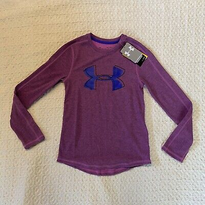 Under Armour ColdGear Infrared Girls Training Shirt  Size Medium YMD  NEW NWT