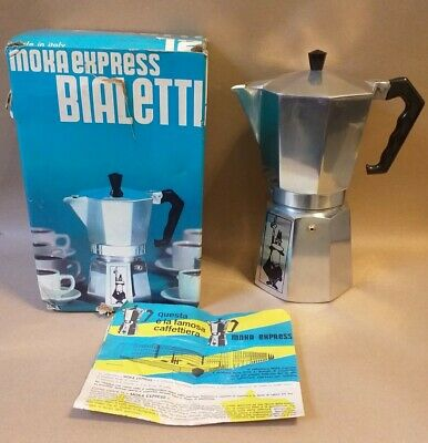 Vintage Bialetti Stovetop 12 cup - Espresso Maker boxed