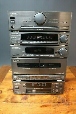 Pioneer Stack Hi Fi System Multi CD Tape Tuner & Graphic Equalizer Component